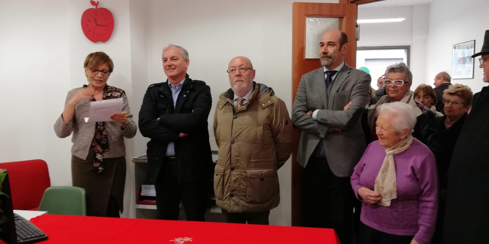 inaugurazione nuova sede fnp cisl Seriate