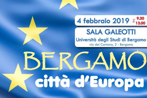 Bergamo, città d'Europa