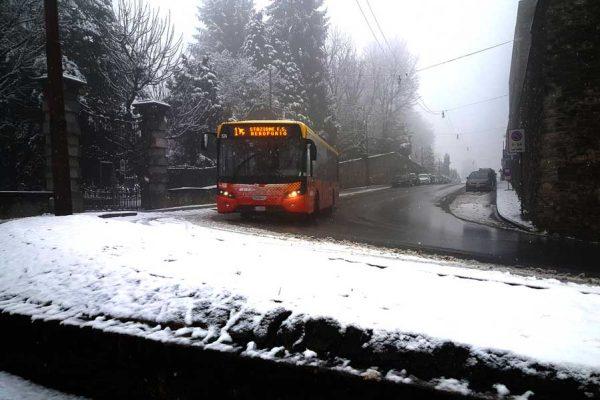 Trasporto pubblico penalizzato a Bergamo