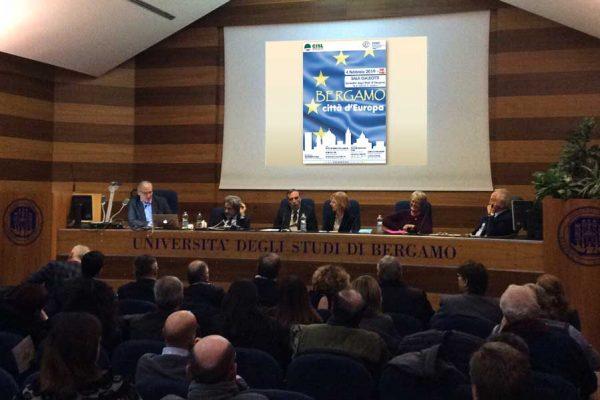 Bergamo, baricentro economico europeo