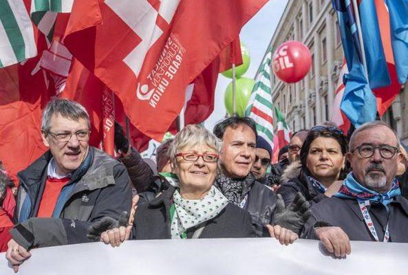 mobilitazione sindacato dopo 9 febbraio