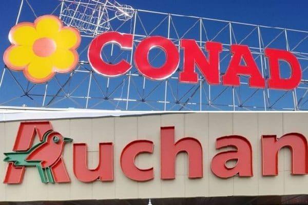 Auchan vende tutto a Conad