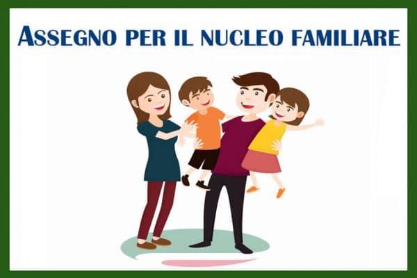 assegni al nucleo familiare