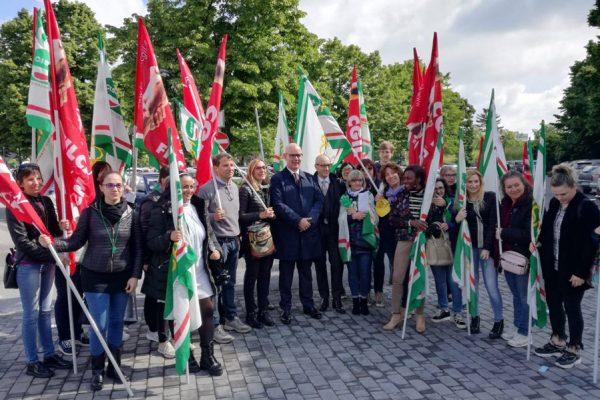 revoca lo sciopero contro Markas