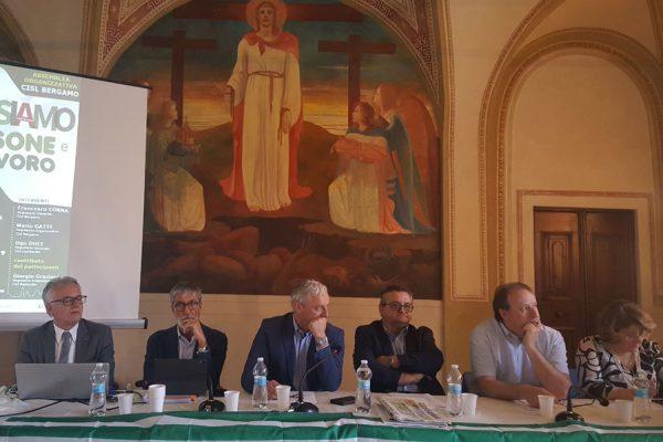 conferenza organizzativa Cisl Bergamo