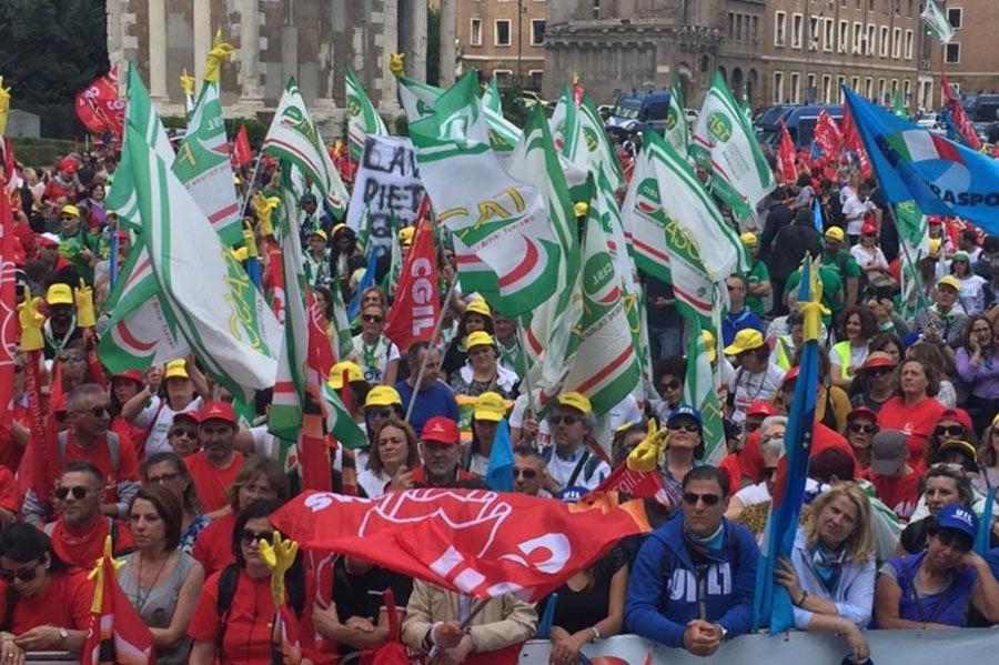 Sciopero Multiservizi a Roma