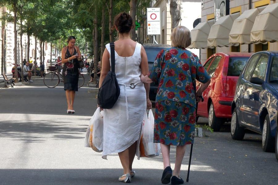 A Bergamo sempre meno badanti