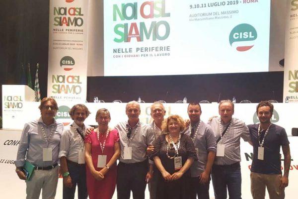conferenza organizzativa Cisl 2019
