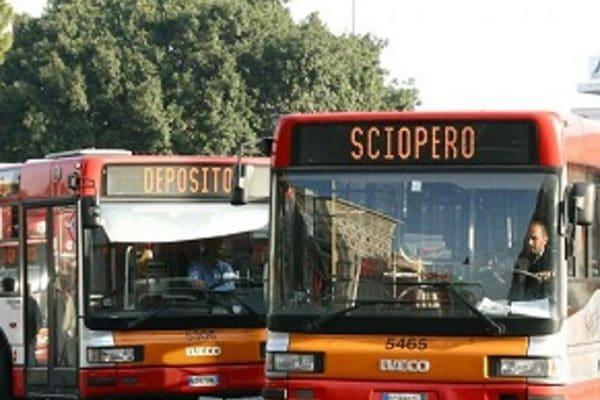 sciopero trasporto pubblico il 24 e 26 luglio