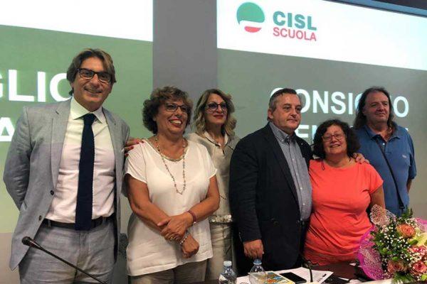 Salvatore Inglima nella squadra della Cisl Scuola Lombardia