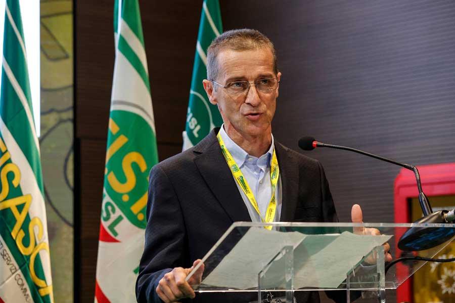 Diego Lorenzi in segreteria nazionale della Fisascat
